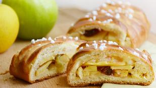 Pénteki süti: almás-citromos fonat