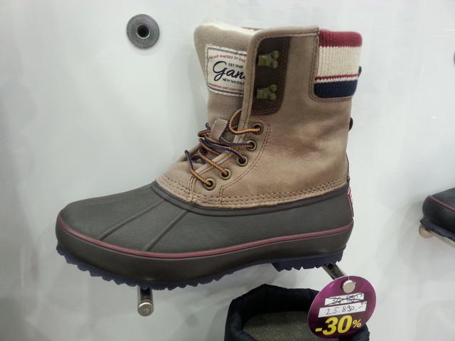 Office Shoes:A Timberland mellett a Sorel   csizmáinak formáját is előszeretettel hasznosítják újra különböző márkák.