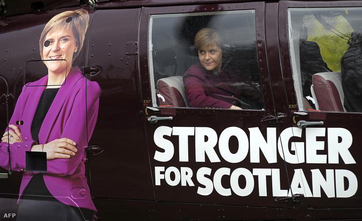 Nicola Sturgeon skót politikus, Skócia első minisztere, azaz miniszterelnöke