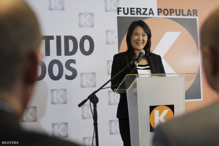 Keiko Fujimori perui politikus
