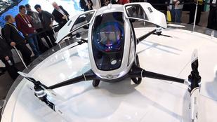Zenélő hűtő, személyszállító drón és az iker mosógép is a jövő része