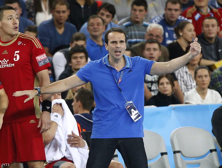 Xavier Sabaté, a Veszprém edzője