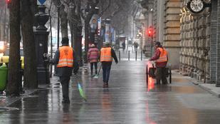 Legyen nagyon óvatos, minden fagy az ónos eső miatt