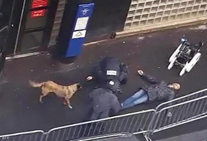 A párizsi késes támadó