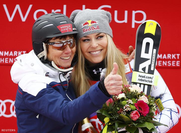 Moser Pröll és Lindsey Vonn