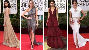 Nézze meg a Golden Globe legszebb ruháit!