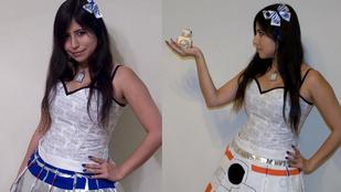 Menő vagy ciki a pörgésre változó Star Wars szoknya?