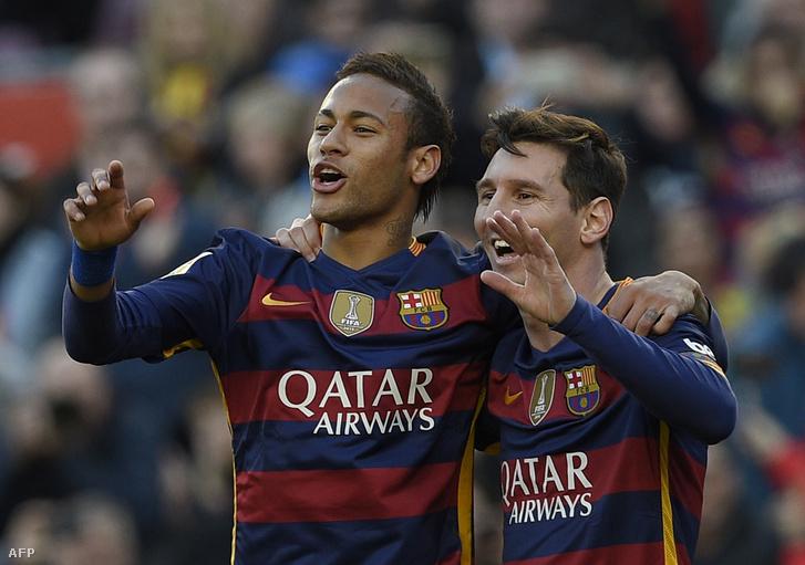 Neymar és Messi