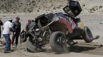 Loeb hatalmasat borult a Dakaron