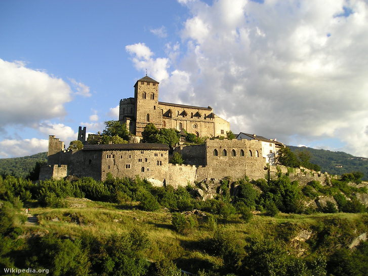 Château de Valère a svájci Sionban