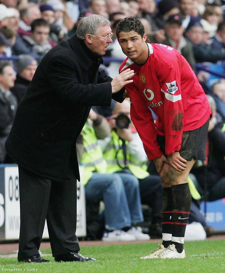 Ferguson, Ronaldo és a 7-es mez