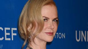 Nicole Kidman nyerte a mai dekoltázsversenyt
