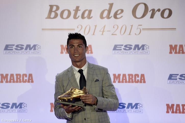 Cristiano Ronaldo és az ő Aranycipője