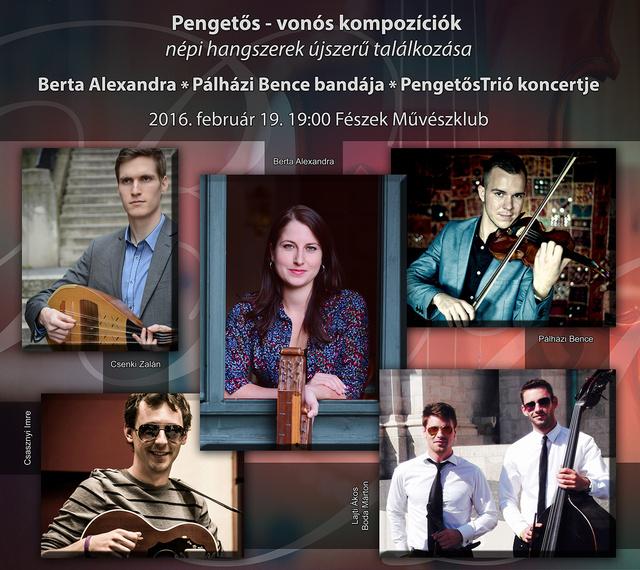 Berta Alexandra és barátai koncertje