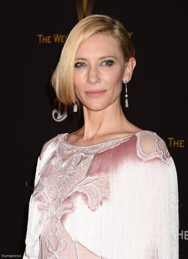 Cate Blanchett féloldalas bubiját Robert Vetica készítette.