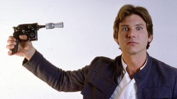 Han Solo tök bénán lőtt
