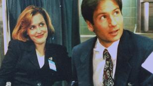 Mulder és Scully végre kamerák előtt estek egymásnak