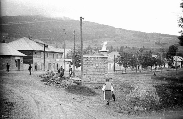 Kőrősmező 1940-ben.