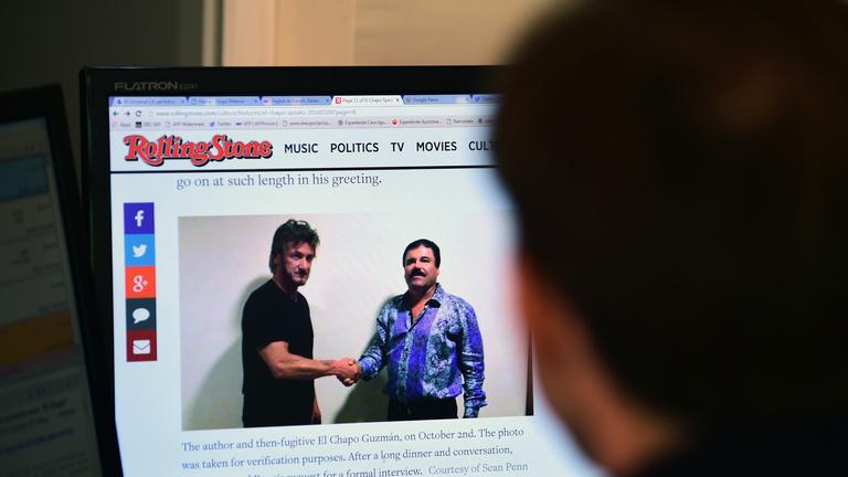 Sean Penn, a száguldó riporter