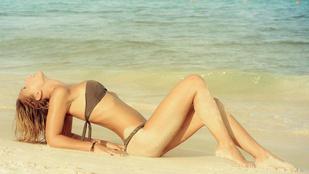 Ilyen szexi bikinis képet még sose látott Kiss Ramónáról