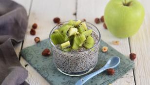 Egészséges szuperreggeli: kókusztejes chiapuding