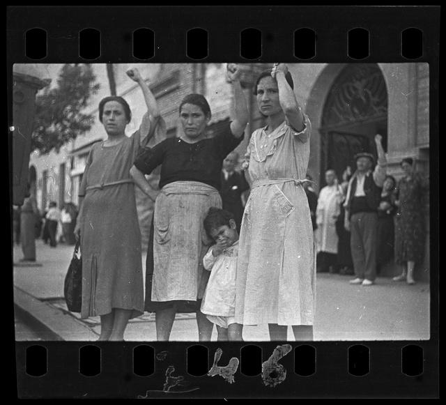 Köztársasági katonák, La Granjueta, córdobai front, Spanyolország, 1937. június