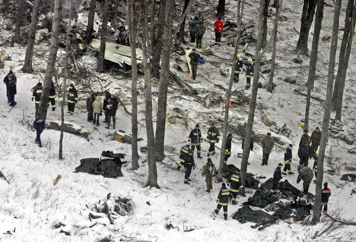 A baleset helyszíne 2006. január 20-án