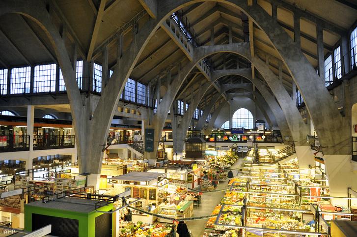 A német Richard Pluddemann áltla tervezett piactér Wroclawban.