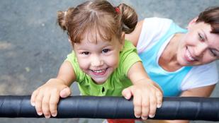 Így neveljen egészséges testképű gyereket