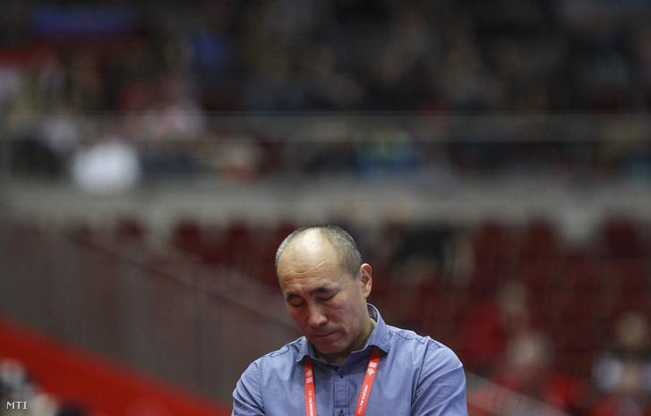 Dujsebajev szövetségi kapitány a dánok elleni elvesztett EB-mérkőzés után.