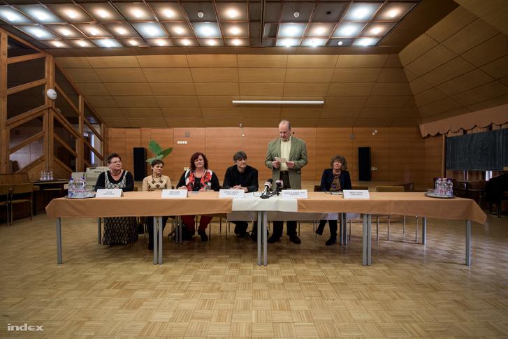 A miskolci Herman Ottó Gimnázium tantestülete