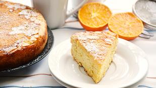 Pénteki süti: narancsos-mandulás piskóta