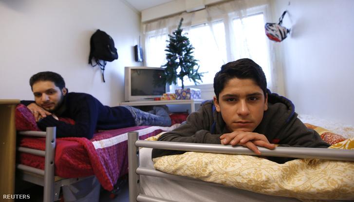 Szír menekültek Eichenauban