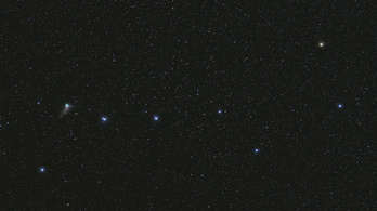 Magyar fotó került a NASA válogatásába a Göncölön áthúzó üstökösről