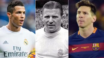 A Puskás-rekord, ami azonnal aranylabdássá tenné C-t vagy Messit