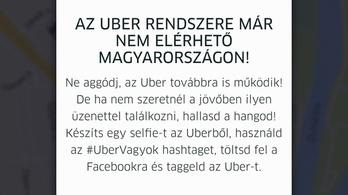 Megszűnésével promózza magát az Uber