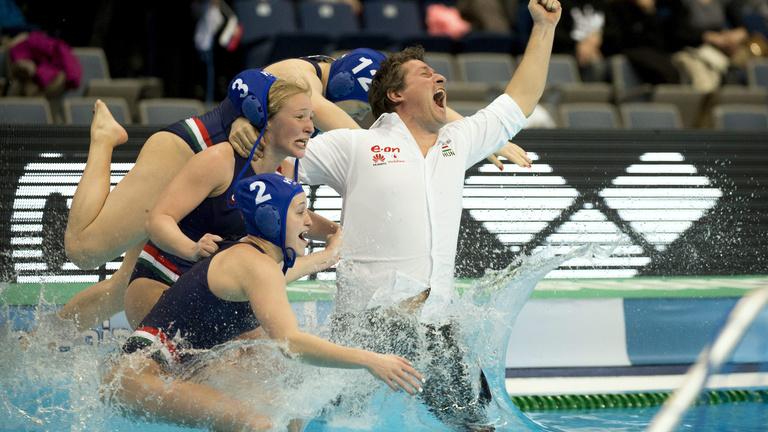 Megnyerte Magyarország a női vízilabda-Eb-t
