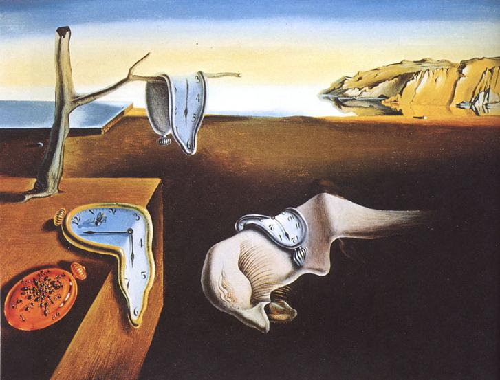 Salvador Dalí: Az elfolyó idő