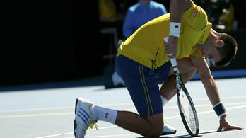 Djokovics életében nem hibázott ennyit