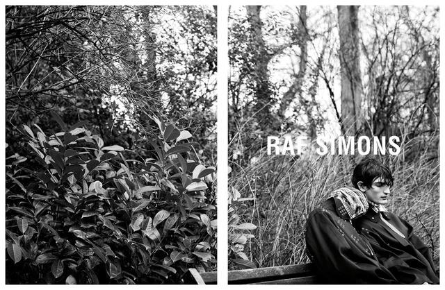Kísérteties kampánnyal rukkolt elő a Raf Simons.