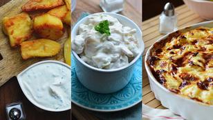 10+1 krumplis étel, amikért odáig vagyunk