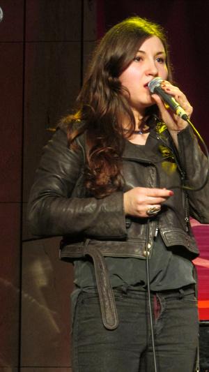 Kisgyörgy Ilka, a Landing Venus énekes-zenekarvezetője
