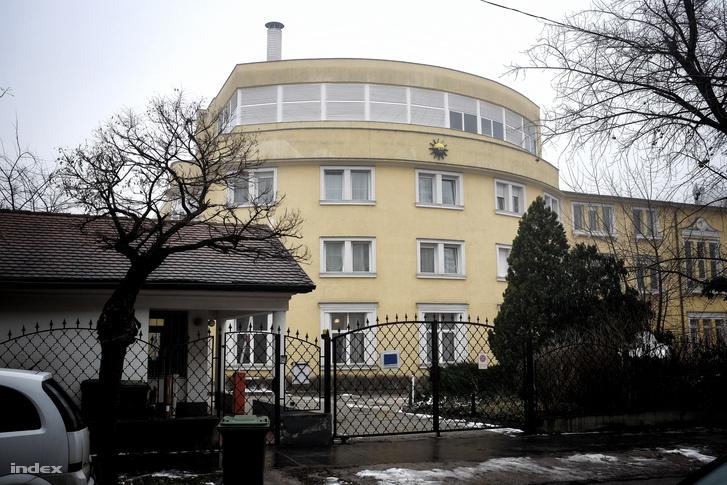 Az egykori Nap Tv székháza az Angol utcában