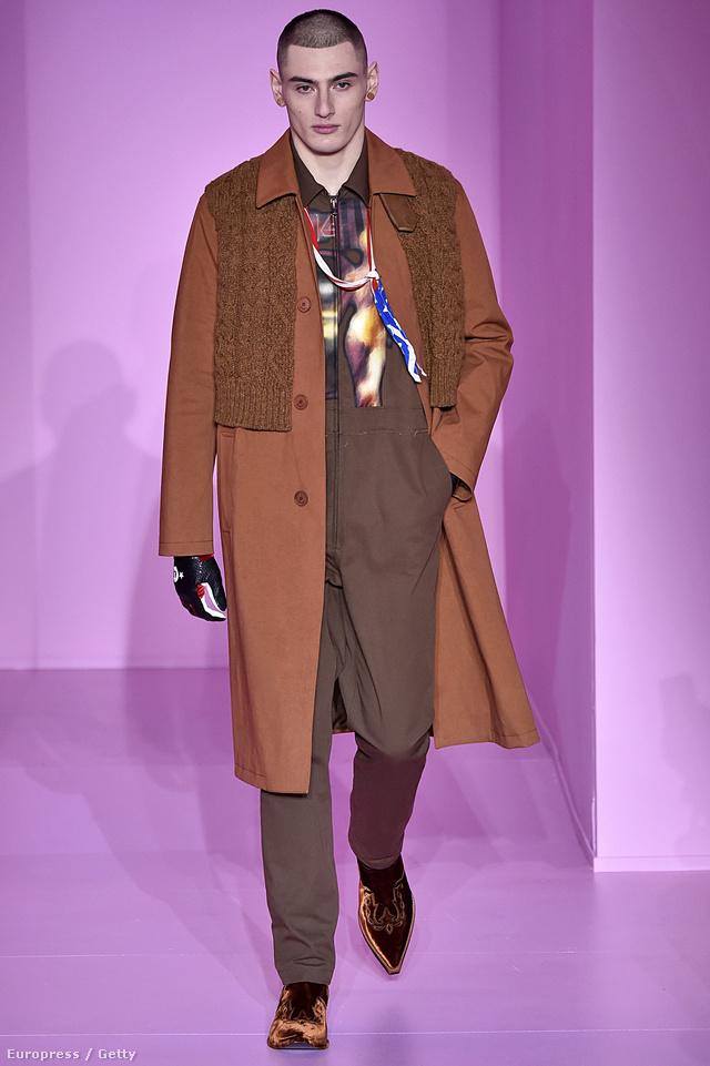 Kötött mellényt hordunk majd a kabát felett a Givenchy szerint.