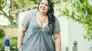 105 nemvékony menyasszony megmutatja a ruháját