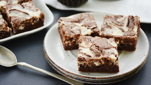 Pénteki süti: túrórudi brownie