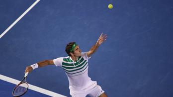 Federer nyerte a legnagyobb pontot, de ez Djokovics meccse volt