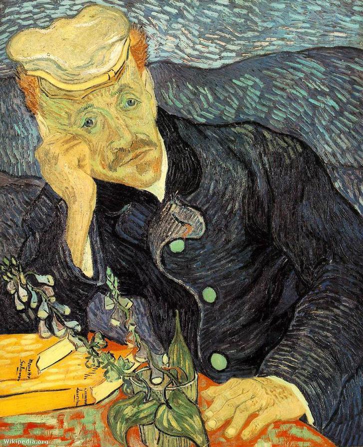 Dr. Gachet portréja
