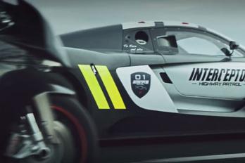 Durva rendőrségi elfogó a Renault-tól