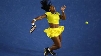 Balkezes német teniszező győzte le Serena Williamset az AusOpenen